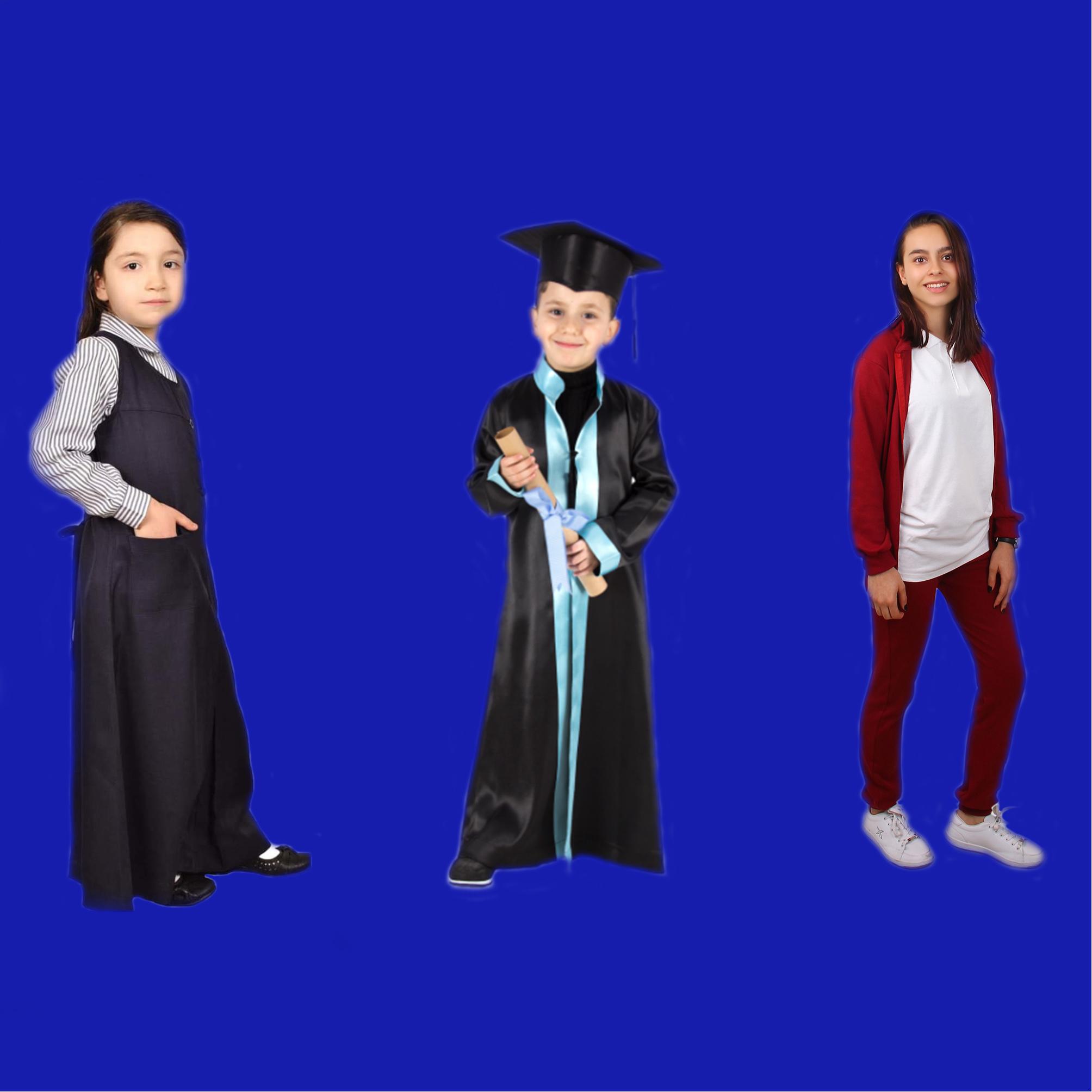 انتاج الملابس المدرسية (مريول - شيرت - بيجاما رياضية - ملابس تخرج .. وكل اليونيفورم المدرسي